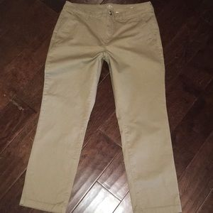 Pants - Size 12 petite Saint johns bay khaki straight legs